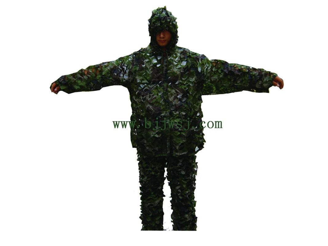 产品名称:军威分体伪装服,伪装网,军用伪装网